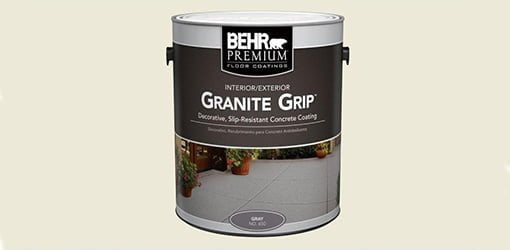 Behr Granite Grip Concrete Floor Today S Homeowner
