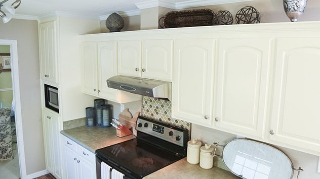 What Is That Box On Top Of Kitchen Cabinets Called