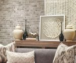 This tile from MS International mimics the look of brick.