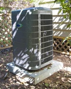 Have your air conditioner serviced by a certified HVAC professional once a year.