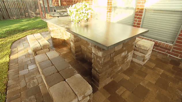 Building Patio Furniture With Landscaping Blocks Today S