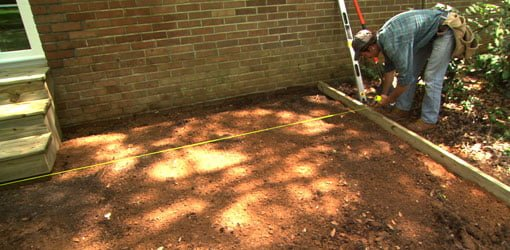How To Lay A Paver Patio Todays Homeowner - Cost to lay outdoor tiles