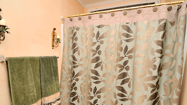 How To Fix A Shower Curtain Rod