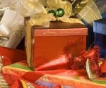 Wrapped gift packages