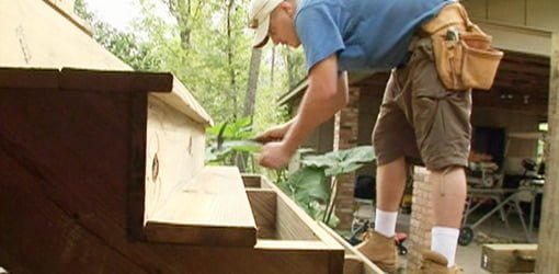 attic balcony ideas - How to Build Wood Steps on a Deck