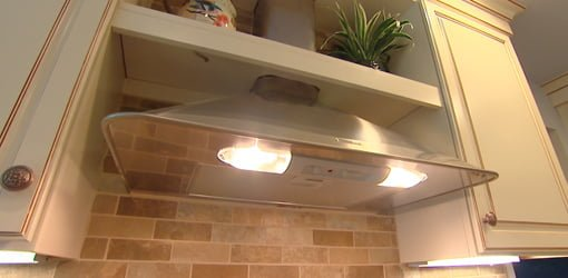 Kitchen Range Hood.