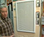 Enclosed Blinds for Entry Doors