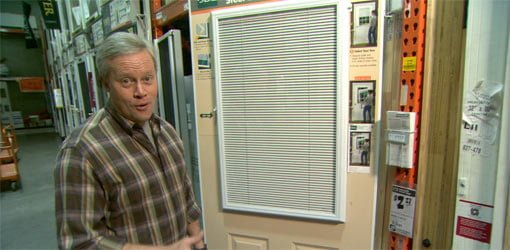 enclosed window blinds single door enclosed blinds for entry doors todays homeowner