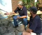 How to Build a Stone Waterfall