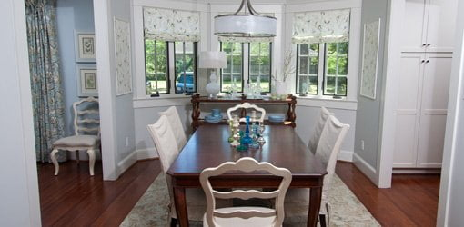 Dining Room With Hanging Chandelier Dimensions