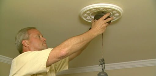 how to install a chandelier and dimmer switch