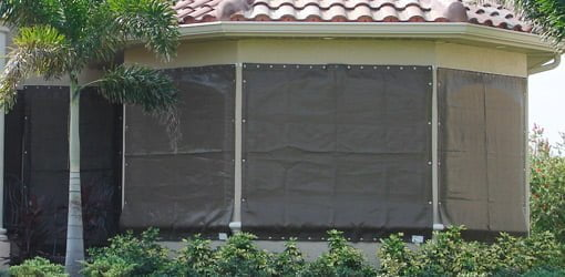 Fabric Storm Panels Hurricane Protection For Your Home