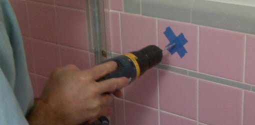 drilling ceramic tiles bathroom how to drill a in tile today s homeowner 18212