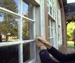 Opening a Paint Stuck Window