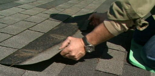 Replacing a roof shingle