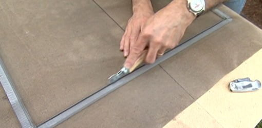 How to Replace a Window Screen | Today's Homeowner