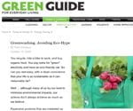 avoiding greenwashing
