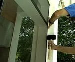 installing a retracable screen