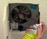 maintaining bathroom vent fan