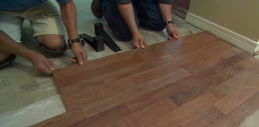 How To Install Laminate Flooring Todays Homeowner