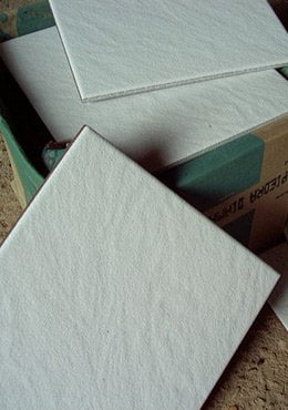 Box of tile