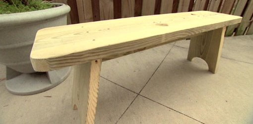 How To Build An Outdoor Bench Part 78