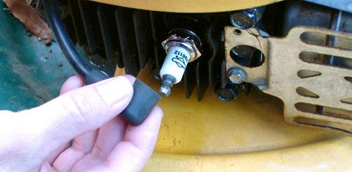 Step 2: Disconnect Spark Plug Wire
