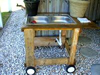 Build Your Own Outdoor Utility Sink Todays Homeowner