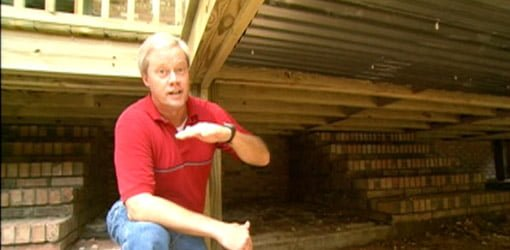 How To Build A Storage Area Under A Deck Today S Homeowner