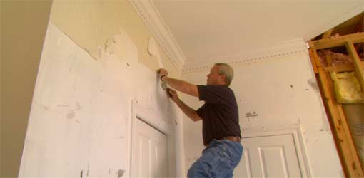 Removing Wallpaper from Walls