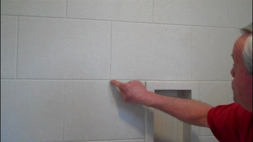 Solid Surface Shower Surround Offers The Look Of Tile Without Grout Today S Homeowner