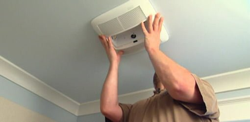 Tips For Installing A Bathroom Exhaust Vent Fan Todays Homeowner - Who can install a bathroom exhaust fan