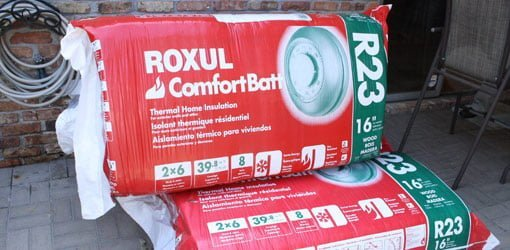 How to determine the r value of insulation today 39 s homeowner for Roxul batt insulation r value