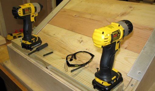Compact 12-volt impact wrench and drill driver from DeWalt