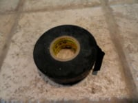 Roll of black electrical tape