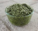 Pesto in bowl