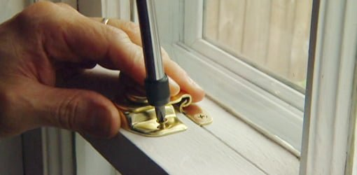 Adding lock to window.