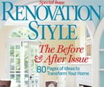 Cover of Renovation Style magazine