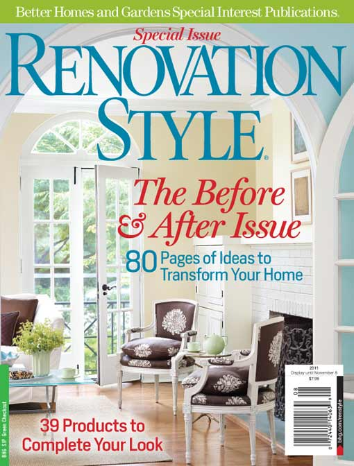 Cover Of Renovation Style Magazine Before After Issue