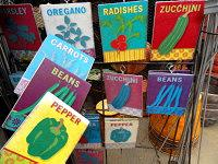Assorted Garden Planting Markers