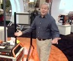 Danny Lipford at the Generac booth at IBS 2010