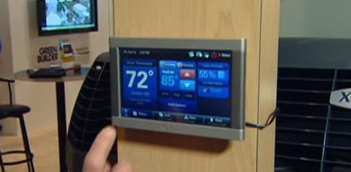 Trane Touch Screen Programmable Thermostat Today S Homeowner