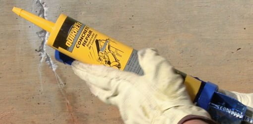 Tube of QUIKRETE Concrete Repair Caulk