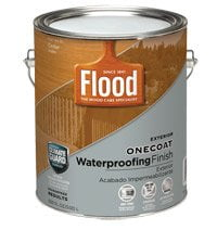 Can of Flood OneCoat Waterproofing Finish