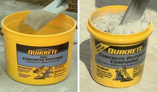 QUIKRETE Concrete Repair materials.