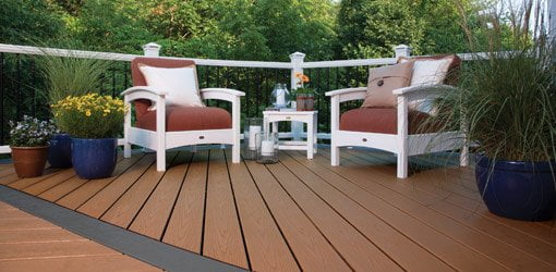 Trex Enhance composite deck
