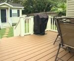 DIY composite deck.