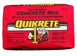 Bag of QUIKRETE Fast Setting Concrete Mix