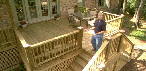 Building A Wood Deck On Your Home Today S Homeowner