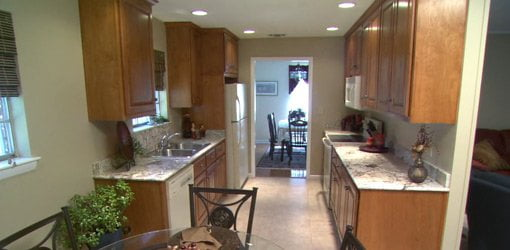 Completed budget kitchen remodel.